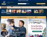 Bild Webseite Tchibo Köln