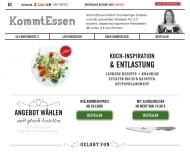 Bild Webseite KommtEssen Hamburg