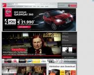 Bild Webseite ProSiebenSat.1 TV Deutschland Unterföhring