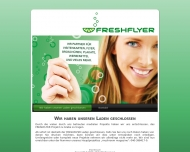 FRESHFLYER Design, Druck Verteilung von Flyern, Brosch?ren, Plakate, Visitenkarten, Postkarten, Brie...
