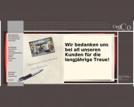 Fachgesch?ft Schreibger?te Aktentaschen Schreibtischaccessoires Berlin Card Co Karten und Geschenke ...