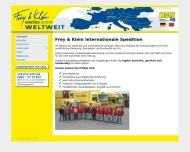 Frey Klein Internationale Spedition Frey Klein