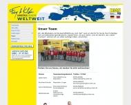 Website Frey + Klein Internationale Spedition