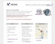 Website FREITAG! Werbeagentur und Verlag