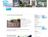 Website ft Fenster & TürenForm