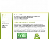 Bild Webseite Helionat eG Magdeburg