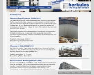 Website Herkules Transportbeton Verwaltung