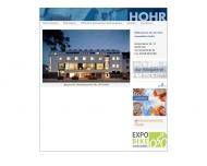 Bild Webseite Hohr Immobilien Köln