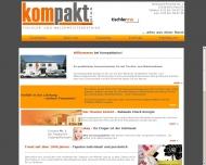Bild Webseite kompakt plus Verwaltung Köln