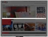Bild Webseite Hogg Robinson Reisen Beteiligungs Köln