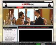 Bild Webseite KRIMI total Veranstaltung Dresden