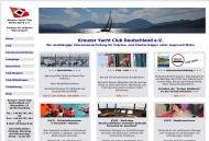 Bild Webseite Kreuzer-Yacht Club Deutschland Hamburg