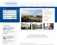 Bild Webseite Peter Platz Köln