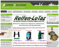 Bild Webseite Reifen Lotaz Köln