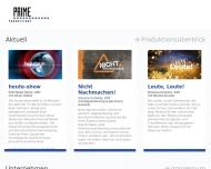 Bild Prime Productions GmbH Ges.f.Film-,Fernseh-,Video -u.Multimediaproduktionen