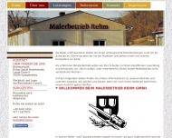 Bild Webseite Rehm Spangenberg
