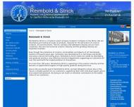 Bild Webseite REIMBOLD & STRICK Handels- und Entwicklungsges. für chemisch.-keram. Prod.mbH Köln