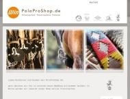 Bild Webseite PoloProShop Hamburg
