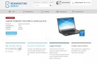 Bild Webseite Remarketing-direkt gebrauchte Computer und Monitore Stuttgart