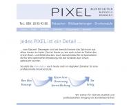 Bild Webseite Pixel Manufaktur München