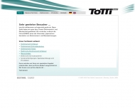 Bild Webseite TOTTI Wuppertal