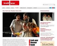 Bild Webseite Trott-war e. V. Stuttgart