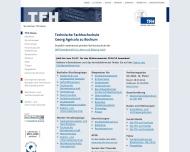 Bild Webseite TÜV NORD College Essen