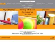 Bild Webseite Ulrich Wacker-Fernandes de Sa Physiotherapie Köln