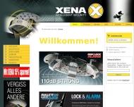 Bild Webseite XENA Köln
