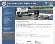 im Autohaus Pabst in Dortmund