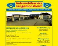 Bild Webseite  Langenlonsheim
