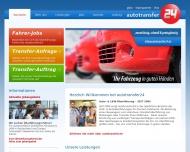 Bild Webseite autotransfer24 Dresden