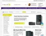 Bild Webseite Avatronic IT Distributions Nürnberg