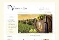 Bild Webseite A. Viehhauser Weine Hamburg