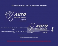 Bild Webseite Autoreparaturwerk Lackcenter Freital Freital