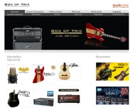 Bild Webseite Box of Trix Meckenheim