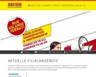 Bild Webseite Bruhn-Elektro-Hausgeräte Handelsgesellschaft Stuttgart