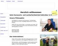 Karosseriebau Kalkreiber GmbH Dresden - Ihr Karosseriebau und Lackierfachbetrieb in Dresden