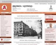 Bild Webseite Brunnen Apotheke Margareta Rauschenbach Berlin