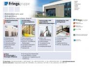 Bild Webseite FRINGS Elektrotechnik + Anlagenbau Alsdorf