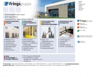 Bild Webseite FRINGS Elektro-Installationstechnik Alsdorf