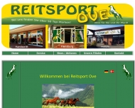 Bild Webseite Reitsport Ove Flensburg