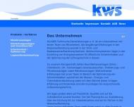 Bild Webseite KWS, Technische Dienstleistungen Berlin
