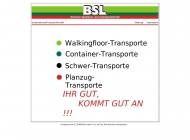 Website BSL Brinkumer Speditions- und Logistik
