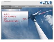 ALTUS - clean technology group Das Unternehmen
