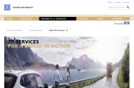 ZF Services - for a world in motion - ZF Friedrichshafen AG