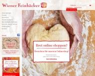 Bild Webseite Ute Sommerfeld  Wiener Freinbäckerei  (Biesdorf Center) Berlin
