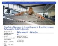 Bild Webseite Karosserie und Lackierzentrum Kellershohn Rösrath