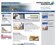 Bild Webseite Amadeus Transportgesellschaft Berlin