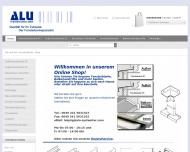 Bild Webseite ALU-Systemtechnik Leipzig